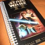 STAR WARS Notebook Journal upcycled..